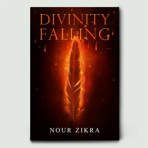 'Divinity Falling' Book Cover Design
