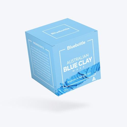 Blue Clay Mask box