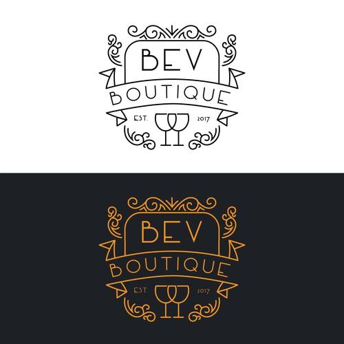 Logo for a wine company