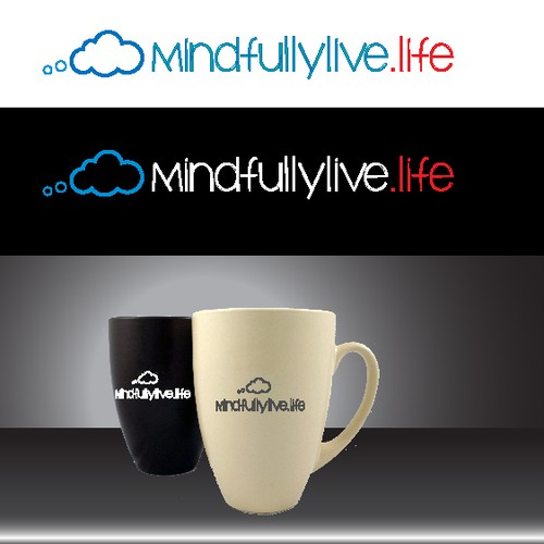 Create a simple logo/mark for project focusing on mindfulness for 17-15 yr olds.
