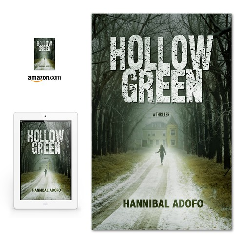 "eBook cover for ""Hollow Green"" by Hannibal Adofo"