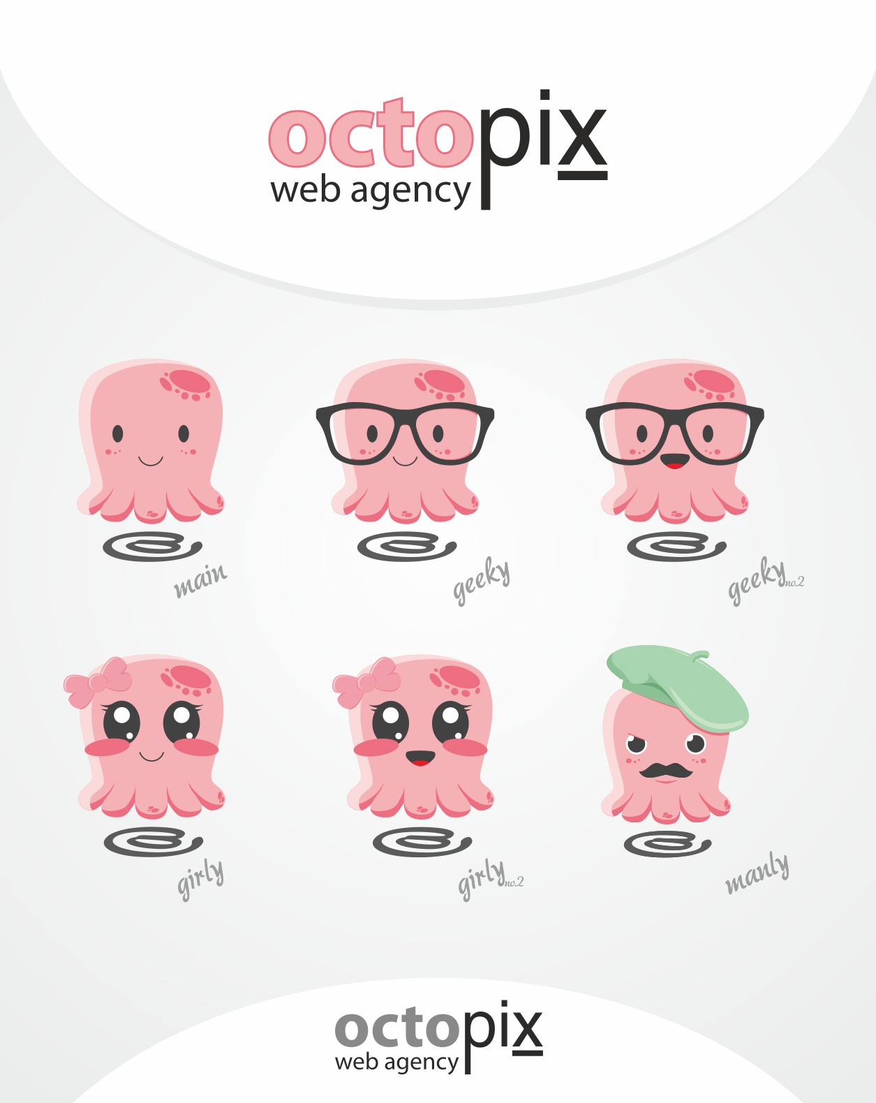 Create the next logo for Octopix