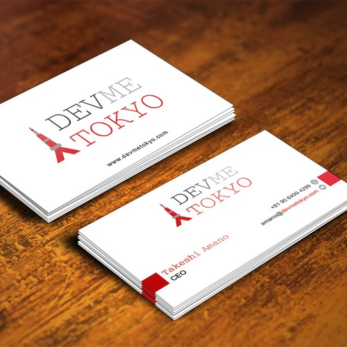 DevMeTokyo Business Cards