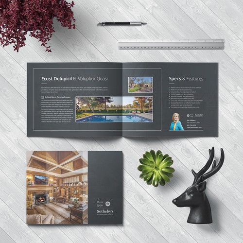 Sleek Bifold Brochure Concept for Jan Kabbani