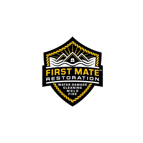 Logo concept for First Mate Restoration