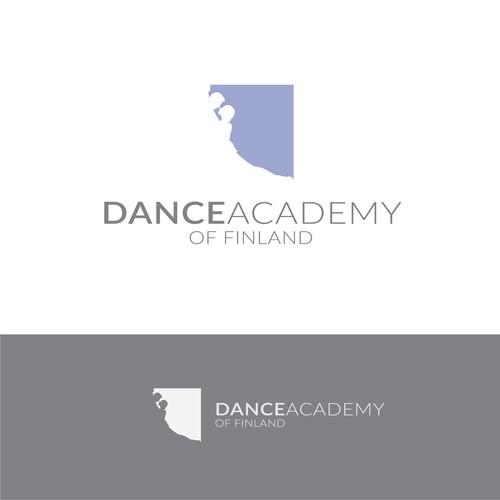 Minimal logo for Dance Academy of Finland