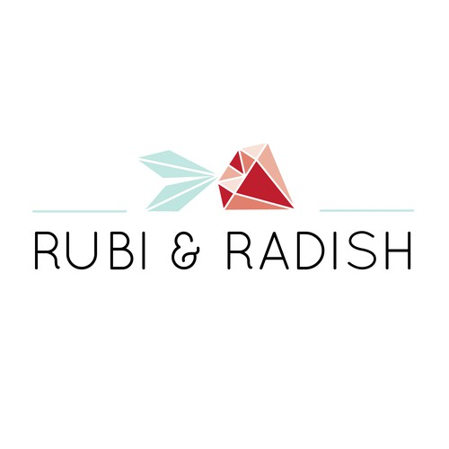 Logo concept for lifestyle blog