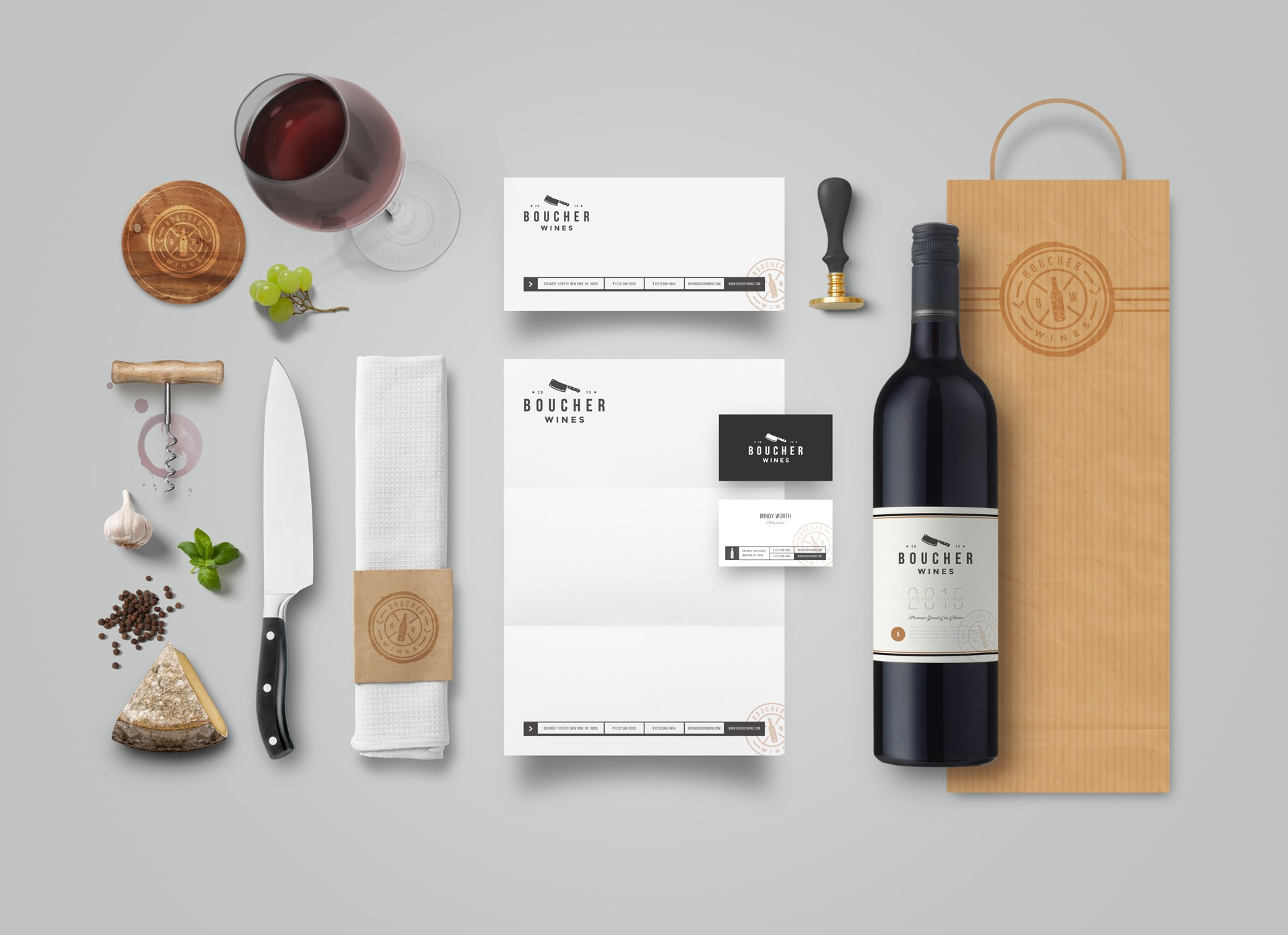 Create a hipster wine brand that encompass the passion and fun that is generated from food and wine