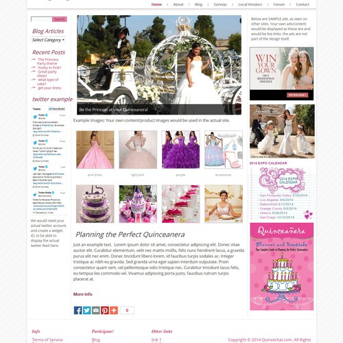 Wordpress theme - magazine/blog style