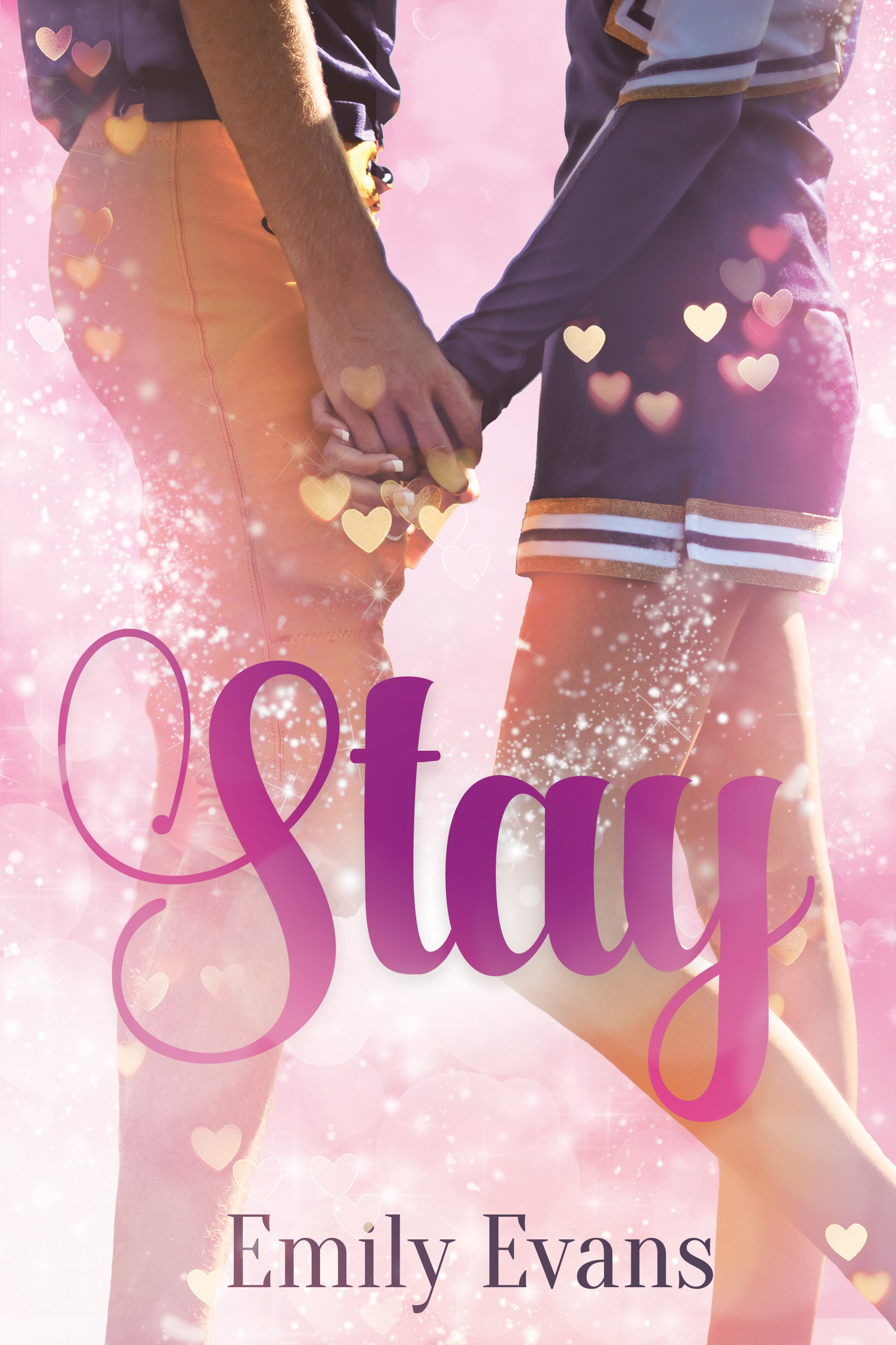 Stay ( A Young Adult Romance Novel) Book Cover Art