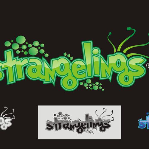 Logo for Mobile Game - Strangelings