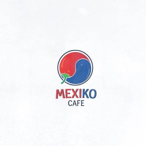 Logo for Korean/Mexican fusion Cafe