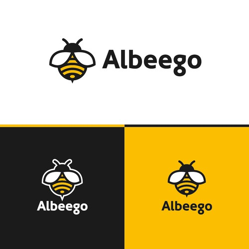 Wifi Device logo concept for Albeego