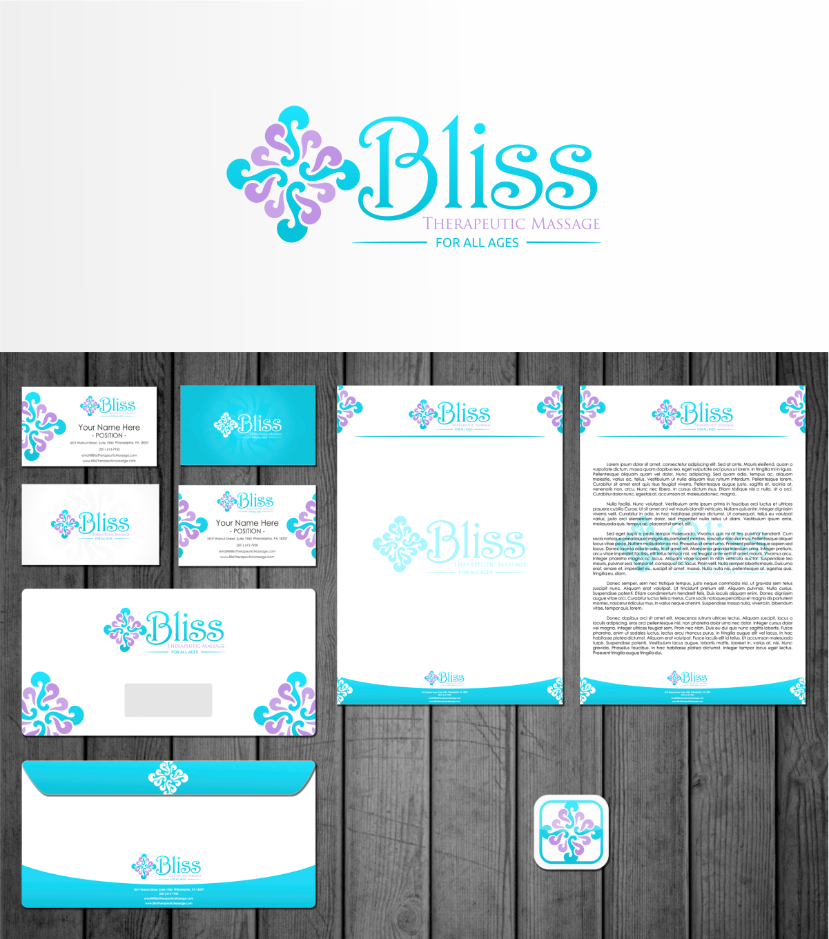 Bliss Therapeutic Massage or Bliss Massage needs a new logo