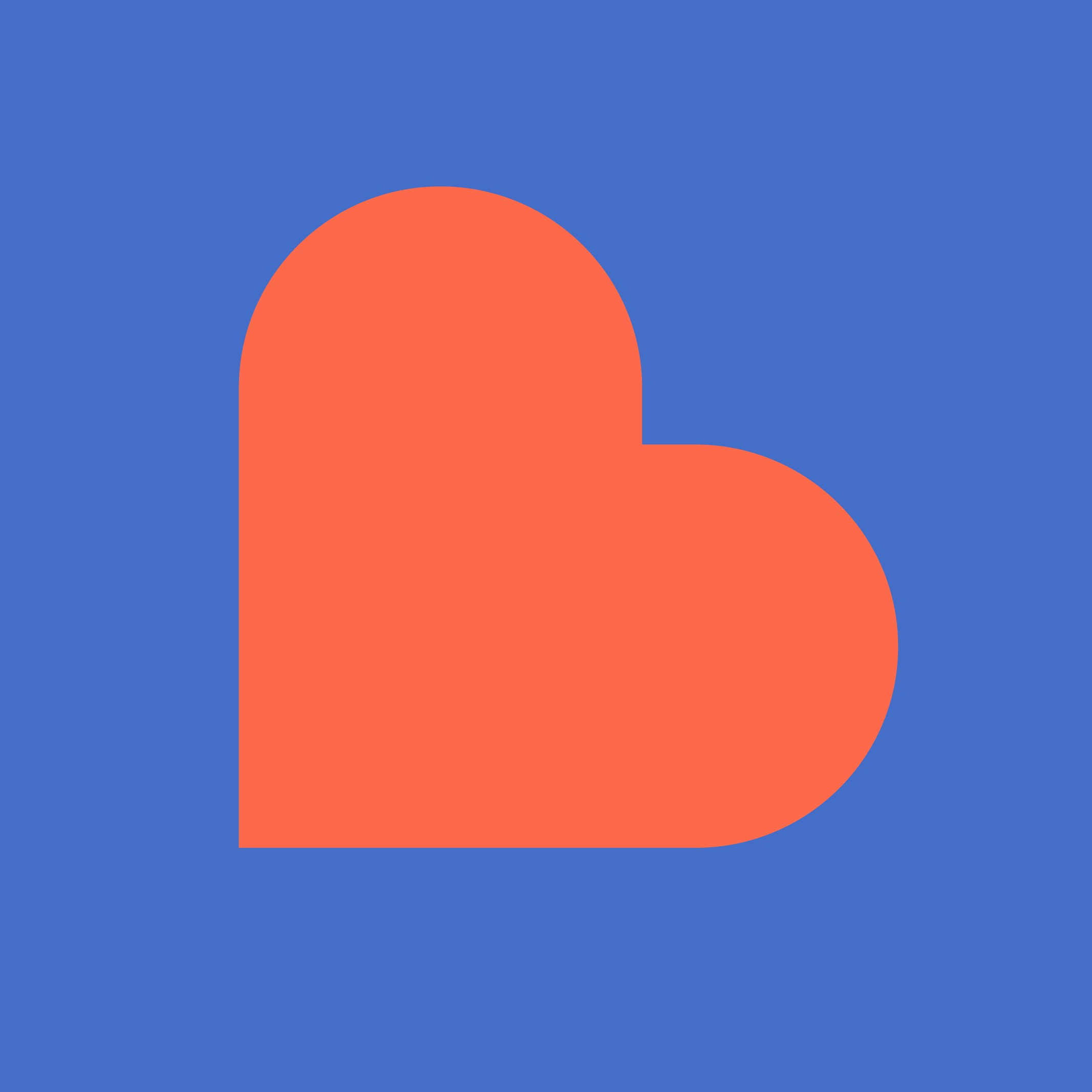 Create an innovative app icon/logo capturing the essence of Breeder, a dating app for single parents