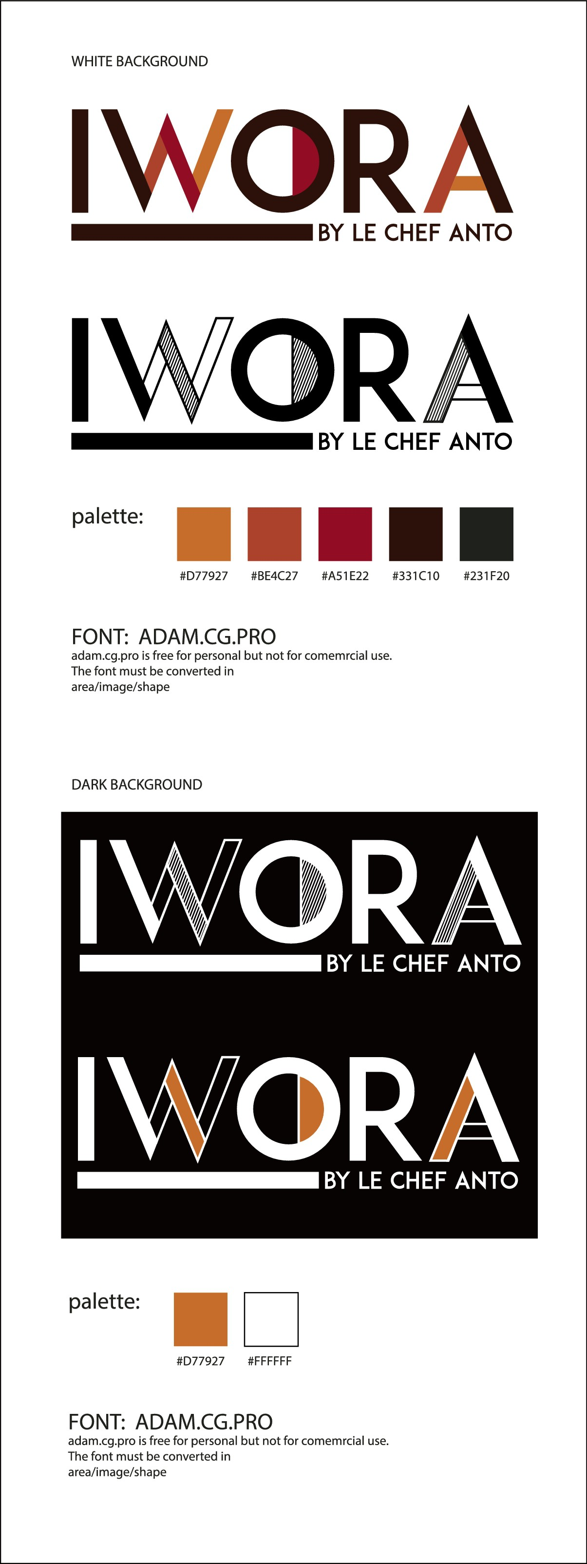 IWORA - By Le Chef Anto