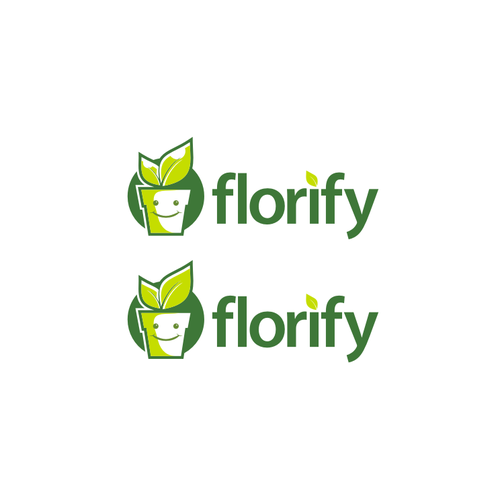 logo designs for florify apps