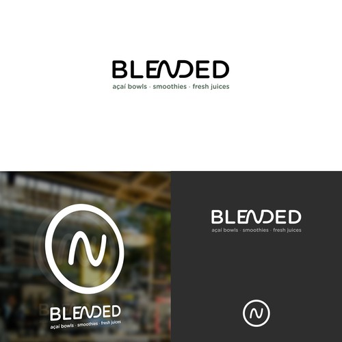 Bold Logo for Blended Cafe