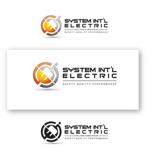 "Electrical contractor design ""NO LIGHTNING SYMBOLS PLEASE'"