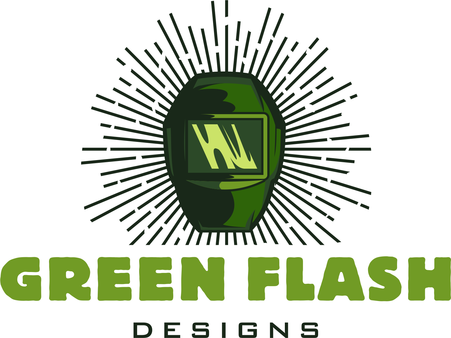 DESIGN a simple modern punk inspired logo for welding and fab shop