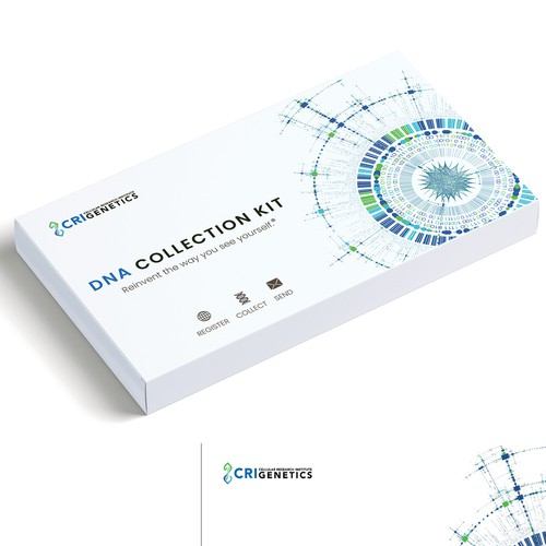DNA Testing Kit- Box Redesign for Genetics Company