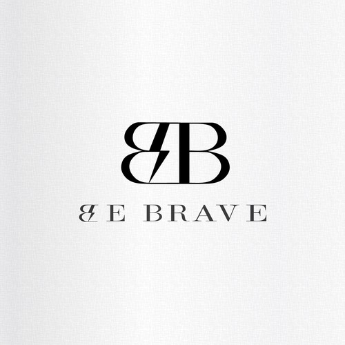 Luxury Brand Logo ''Be Brave''