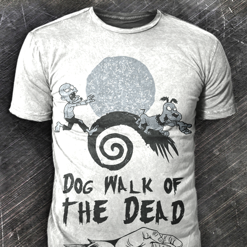 Zombie Dog Walk T-Shirt Design Needed!