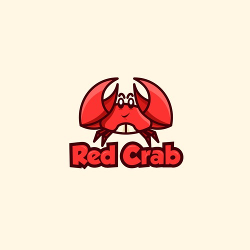 "Design me a logo for ""Red Crab"""