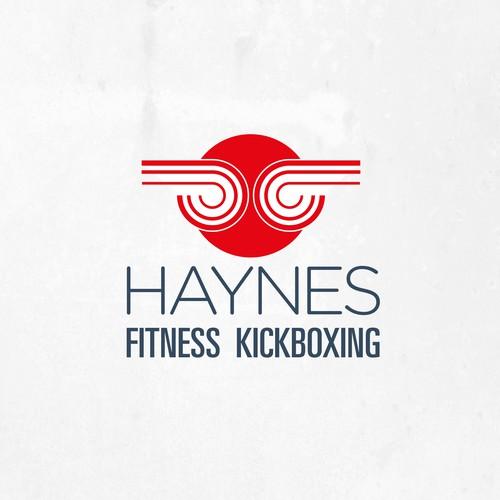 Logo for  fitness kickboxing