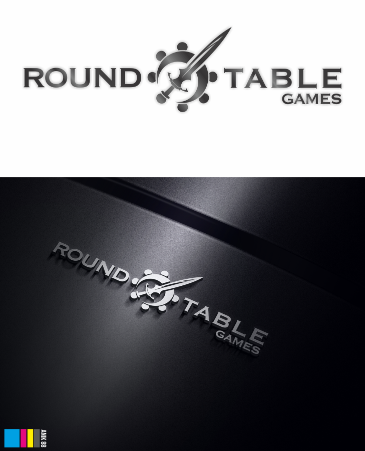 Create a logo for a brand new tabletop gaming store aimed at mature gamers