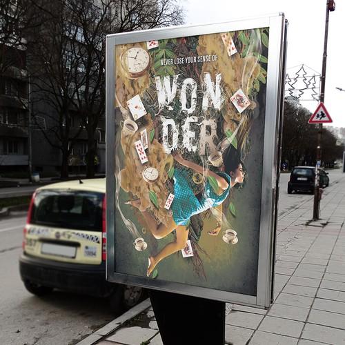 Wonder Poster design
