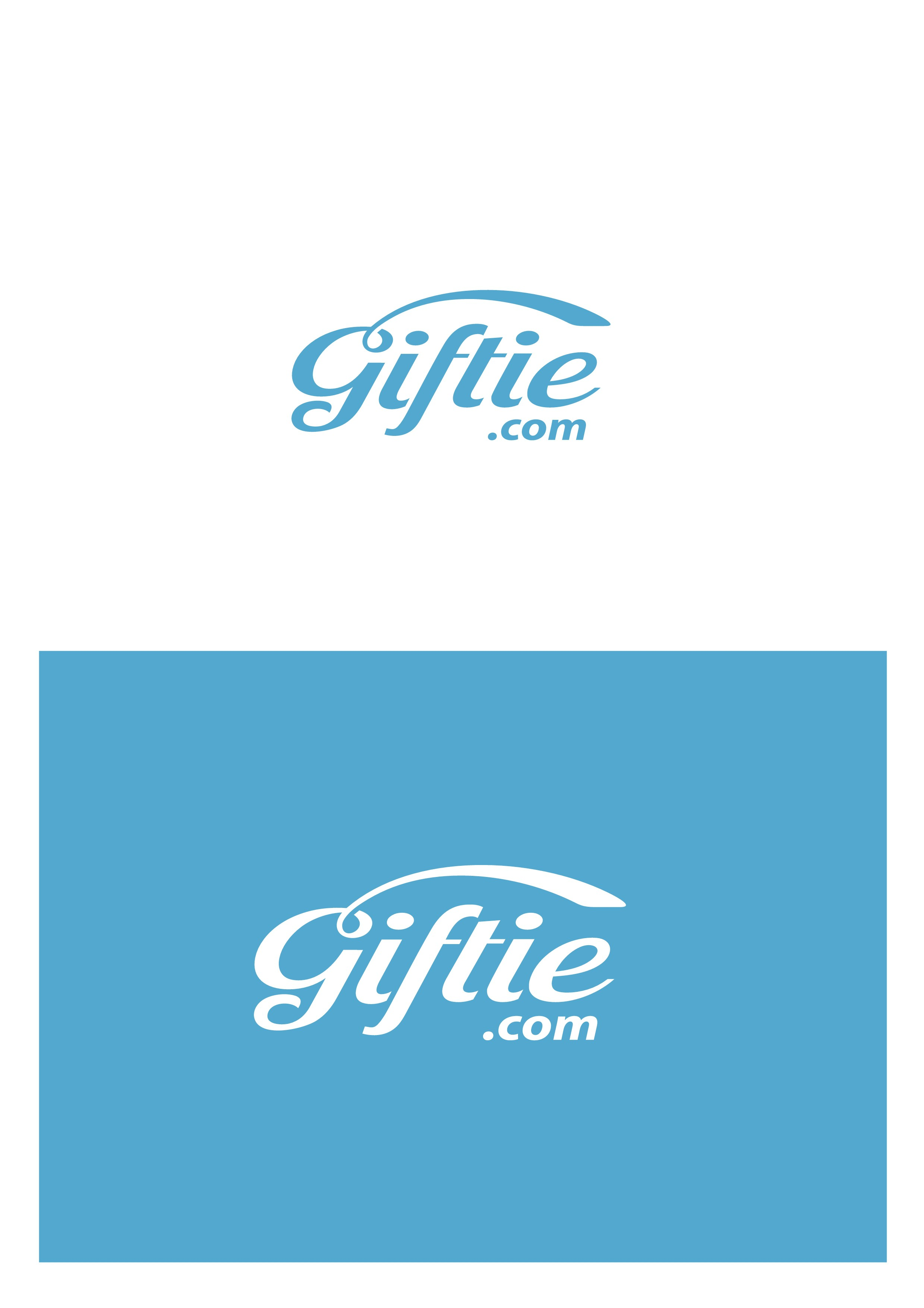 Create a logo for Giftie, a cool new e-commerce gifting site!