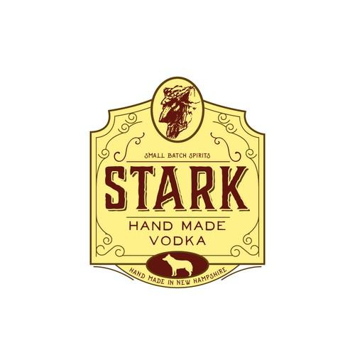 Vintage artisan logo for distillery