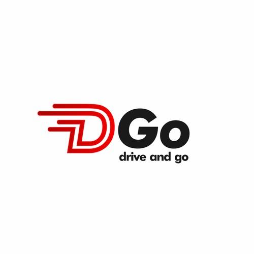 Modern Logo For D Go