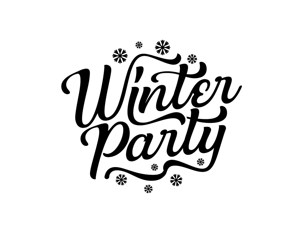 Winter Party logo required