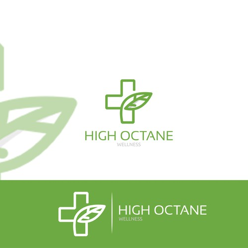 Clean Logo Concept for High Octane