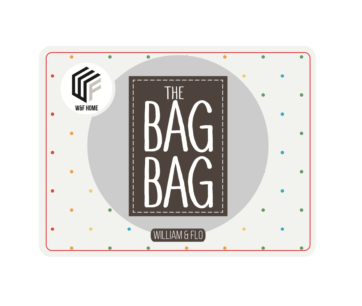 THE BAG BAG project - upgrade my front packaging label/sticker so it looks more professional