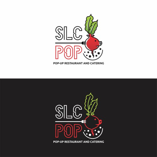 Logo Concept for SLC POP