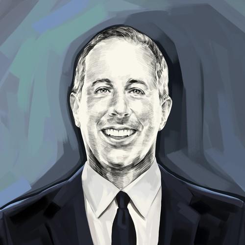 Jerry Seinfeld Illustration