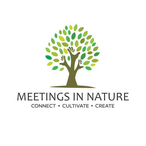 Create fun and meaningful logo for Meetings in Nature