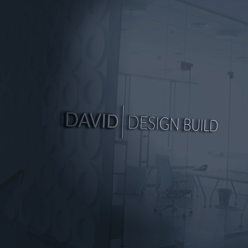 Minimal design for construction company