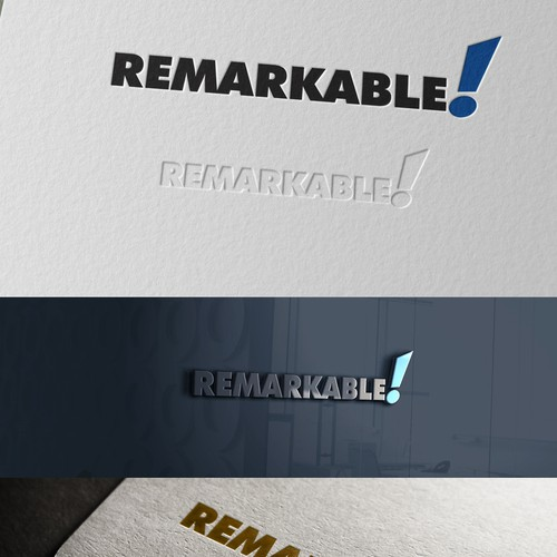 Logo concept for Remarkable!