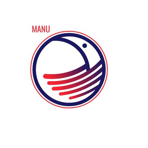 Logo for manu