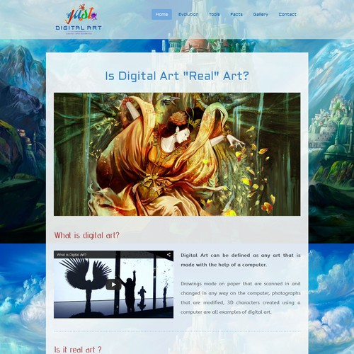 Home page www.justdigitalart.jimdo.com
