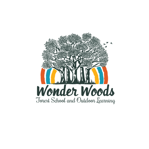 vintage forest logo
