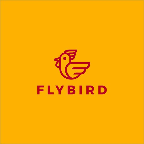 Design a logo for a travel themed fried-chicken concept!