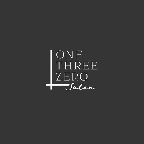 LOGO FOR ONE THREE ZERO SALON
