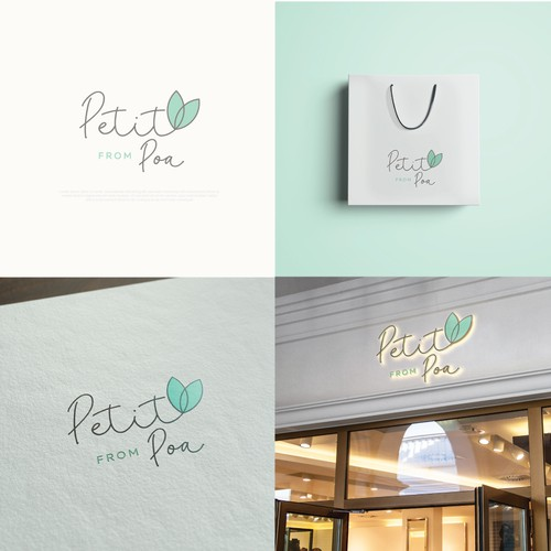 Feminine logo for boutique