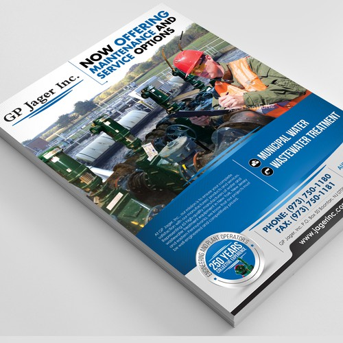 Creative Flyer Concept for BB Communications Group