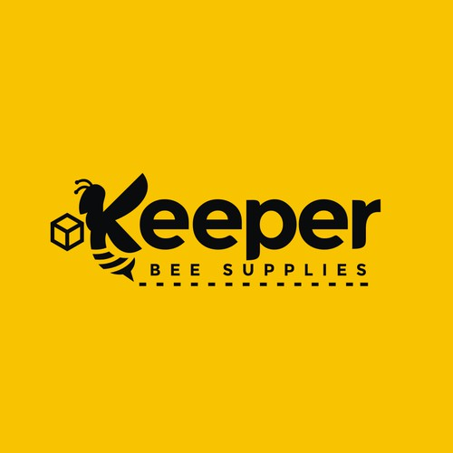 Logo design for a bee keeper equipment supplier.